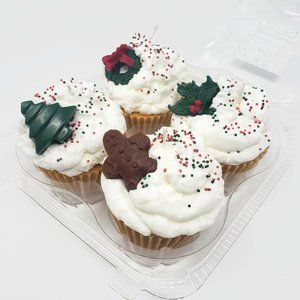 !!SALE!!-Christmas Cupcake Scented Candles